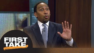 connectYoutube - Stephen A.: Cavaliers 'need to put JR Smith in the starting lineup' for Game 2   First Take   ESPN