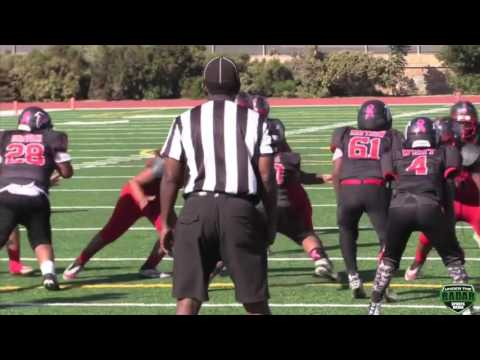DAILY HIGHLIGHT - Wilmington Pilots v Moreno Valley Falcons : SCFYFL 10u SuperBowl2016
