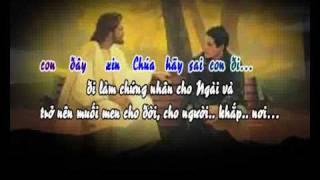 Xin Hãy Sai Con (KC) - karaoke playback - http://songvui.org