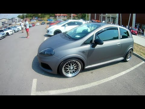 fiat grande punto tuning styling youtube. Black Bedroom Furniture Sets. Home Design Ideas