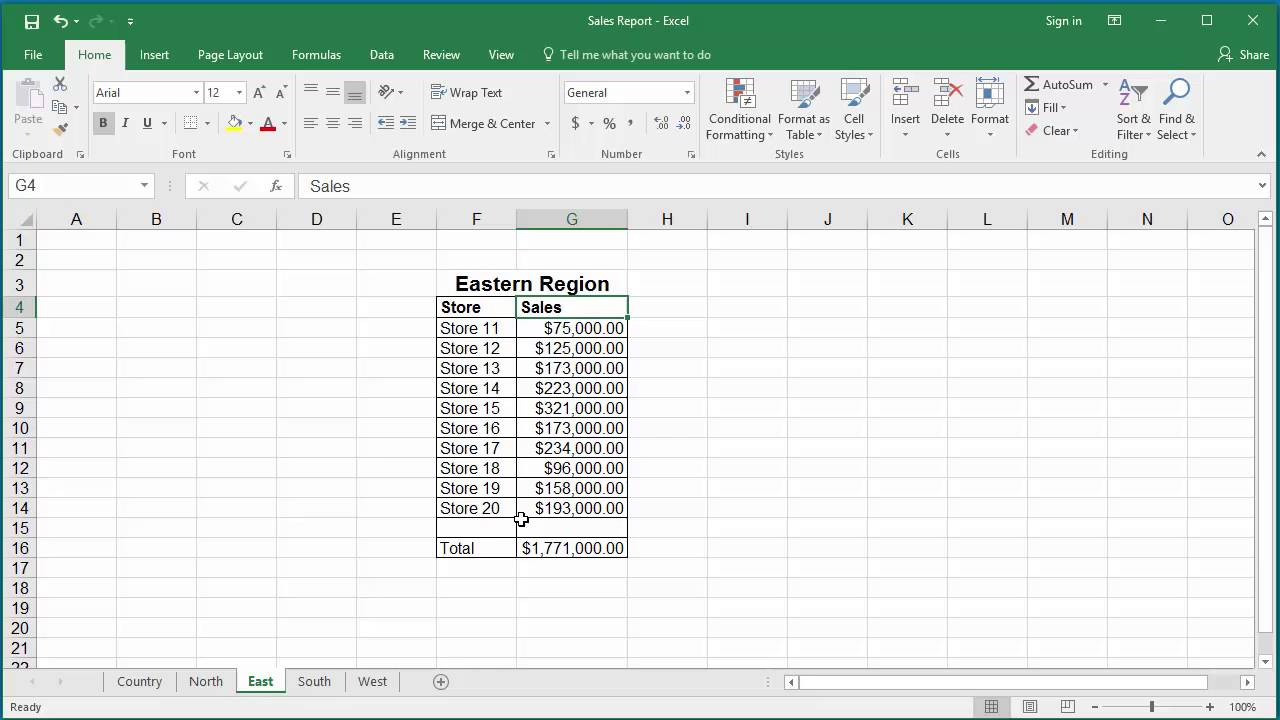 worksheet How To Add Cells In Excel From Different Worksheets how to add identical cells from multiple worksheets in excel 2016 2016