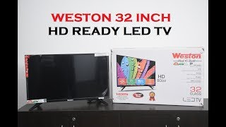 Weston 32 Inch HD READY LED TV - 3 Most Important Things to Know