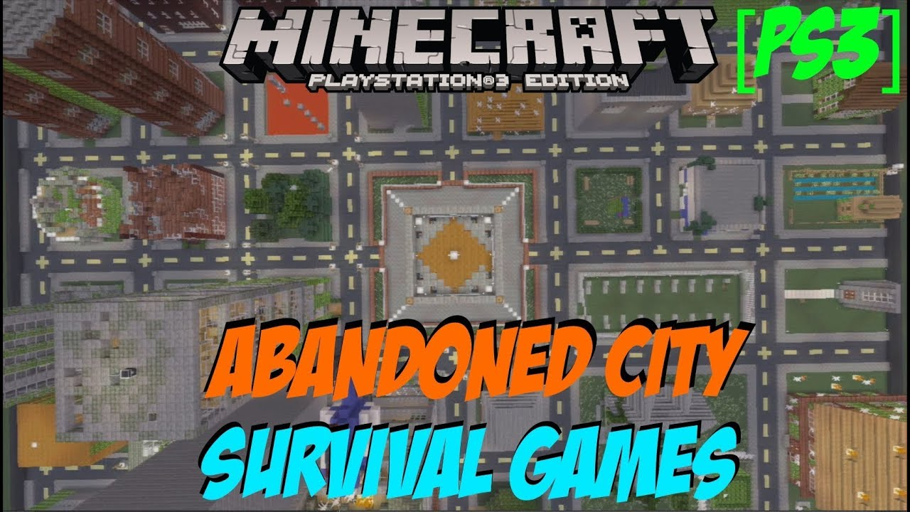 Abandoned City Survival Games! | Minecraft Ps3 Download ...