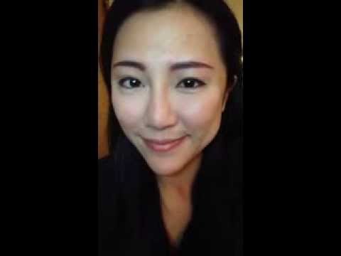 韓式3D立體繡眉(Model 繡眉後立即的效果)