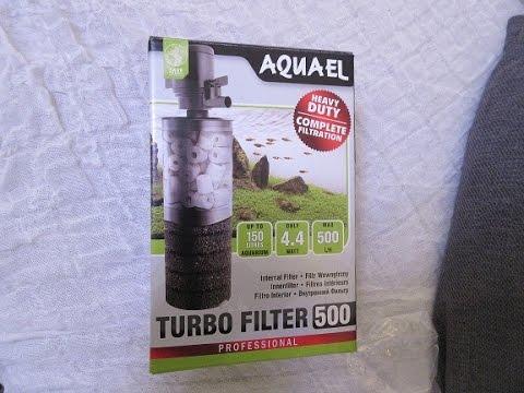 Внутренний фильтр для аквариума - Aquael Turbo Filter 500!