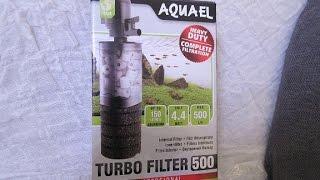 Внутренний фильтр для аквариума - aquael turbo filter 500!(Ребята, рекомендую новую рубрику посылки для аквариума! Посылка для аквариума - скребок https://youtu.be/_43B_Qrrb7Y..., 2015-01-03T16:29:10.000Z)