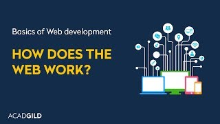 How Does the Web Work? | How Does the Internet Work? | Web Development Tutorial for Beginners 2017