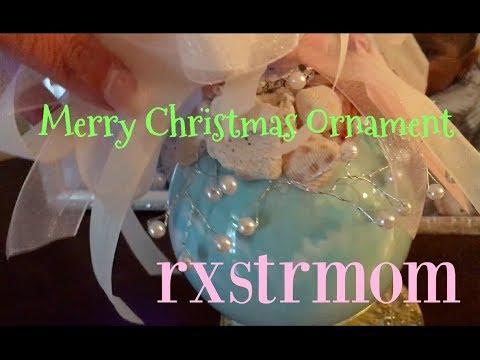 Merry Christmas Ornament ~ 🎄