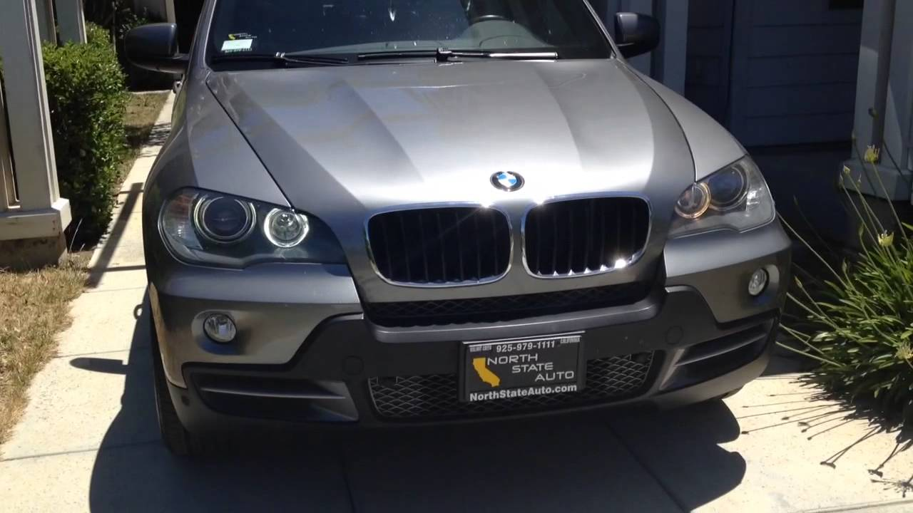 Bmw X5 E70 Angel Eyes Led Comparison Youtube