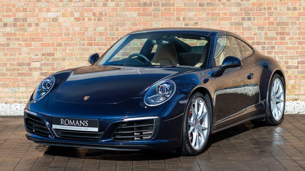 2018 Porsche 911 (991.2) Carrera 4S , Night Blue Metallic , Walkaround,  Interior \u0026 Exhaust Sound