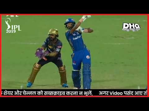 Mi vs kkr all match result 2019