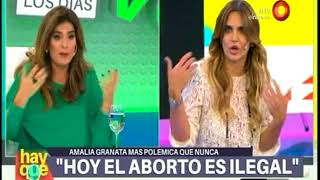 Amalia Granata Vs Nancy Pazos: Tenso Cruce Por La Legalización Del Aborto