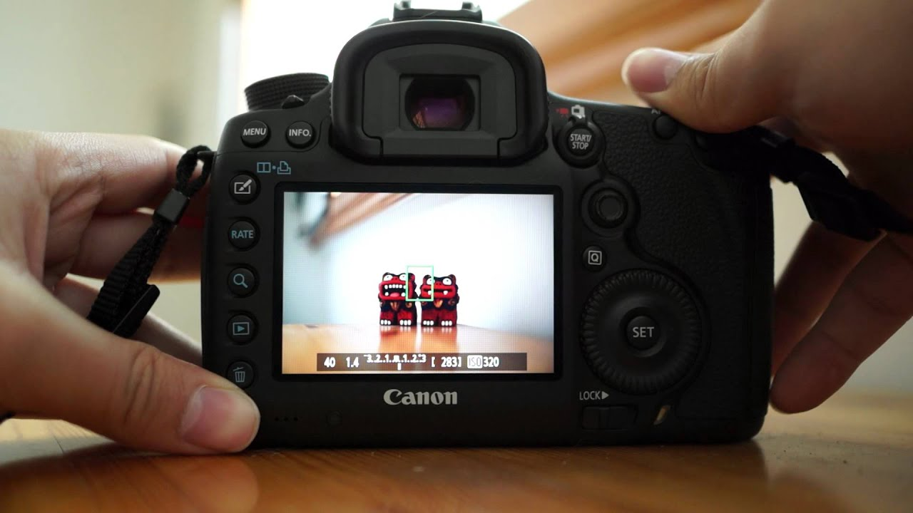 canon eos 5d mark iii live view youtube. Black Bedroom Furniture Sets. Home Design Ideas