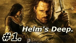 1. LOTR: The Return Of The King: Walkthrough Part 1 [On PS2] ~ Helm