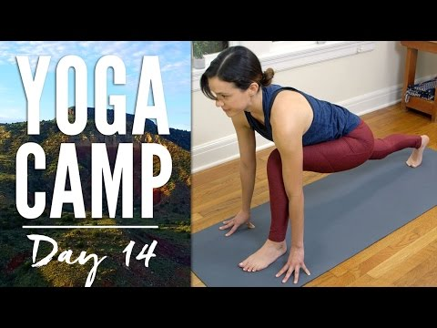Yoga Camp - Day 14 - Go With The Flow