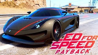 NEED FOR SPEED PAYBACK - KOENIGSEGG REGERA nos 400km/h!! ÉPICO #38