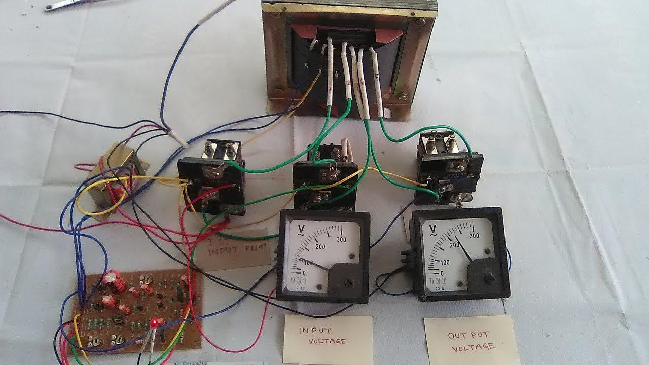 medium resolution of relay alingnement automatic stabilizer 90v to 280v yt 27