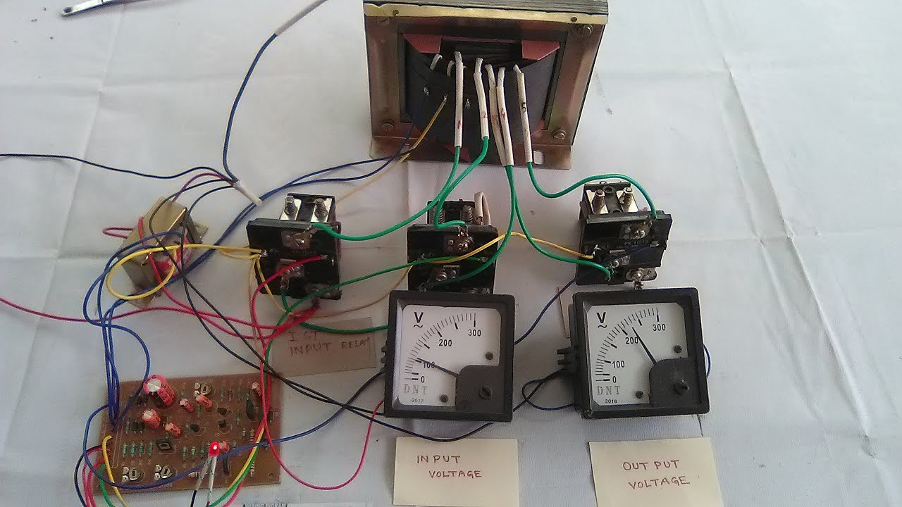 relay alingnement automatic stabilizer 90v to 280v yt 27 [ 1280 x 720 Pixel ]