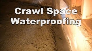 How To Install Footer Tiles In Your Crawl Space, Do It Yourself, Lots of Labor