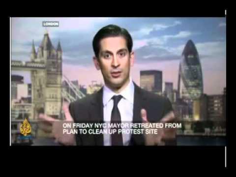 Wall Street Protests | Interview with Scandalous Trader Alessio Rastani