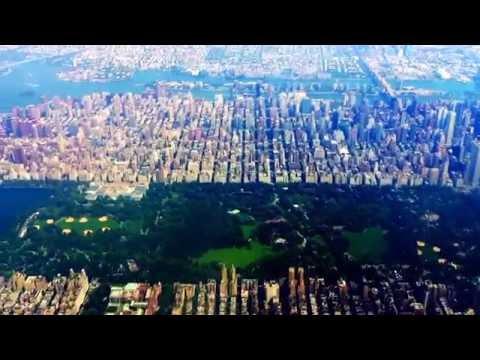 Overflying Manhattan Island on July 25, 2016