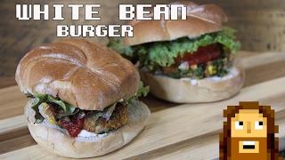 Vegan White Bean Burger I Flavor Quest