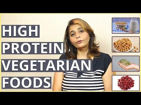 10 HIGH PROTEIN VEGETARIAN DIET FOODS By Dietitian Jyoti Chabria