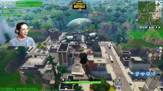 Fortnite Family Duos | PC / Xbox Crossplay | Falibu and Sons Stream Highlight FULL 4/14/18