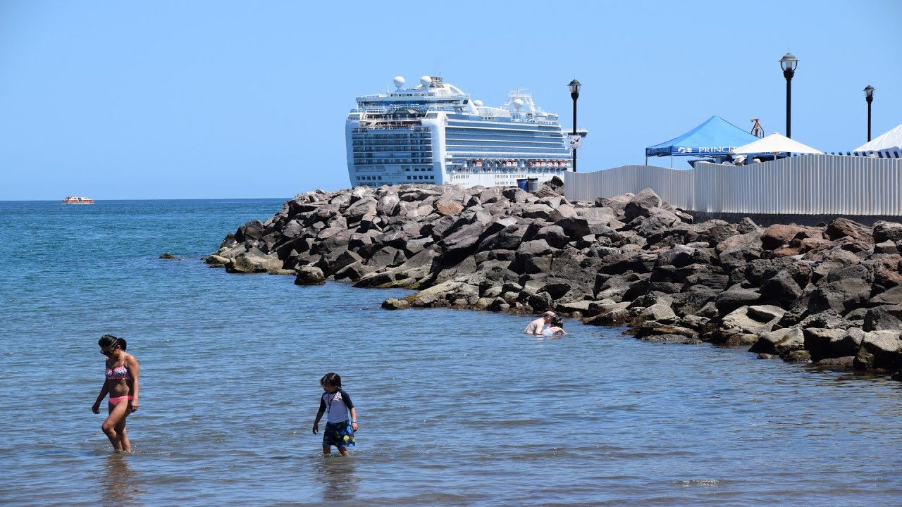 Loreto Beach Baja California Sur Mexico Via Cruise Hd