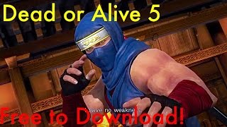 Free download Dead or Alive 5