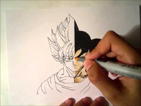 Drawing Goku - Super Saiyan Goku