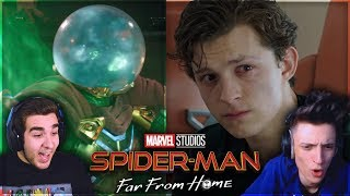 ZANO & JIMMY | Spider-Man: Far From Home TRAILER REACTION #2