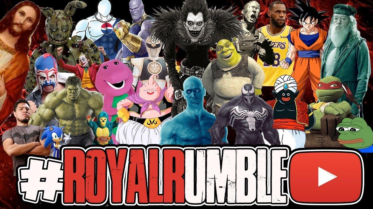 Royal Rumble Youtubero VII (SALE MAL) 🛡️