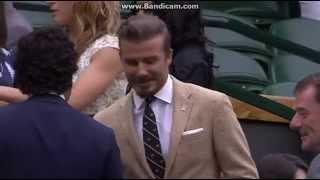 David Beckham Arrives at Wimbledon 2014 / дэвид бэкхем на уимблдоне 2014