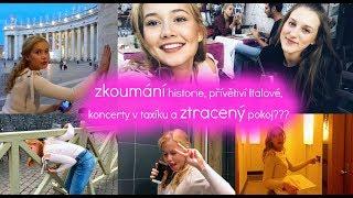 Zkoumání historie, přívětiví Italové, koncerty v taxíku a ztracený pokoj???