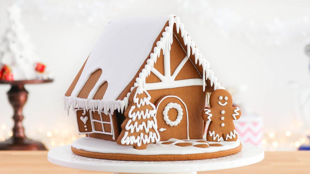 Casa de jengibre para navidad paso a paso tan dulce - Casa de jengibre ikea ...