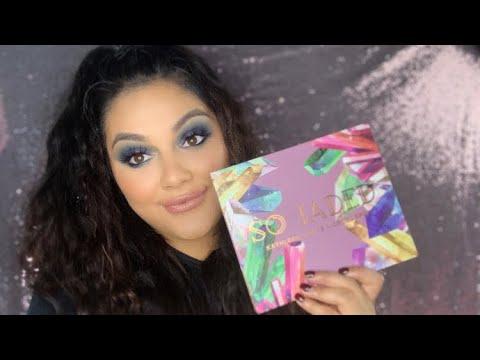 Kathleenlights Colourpop So Jaded palette review!! thumbnail