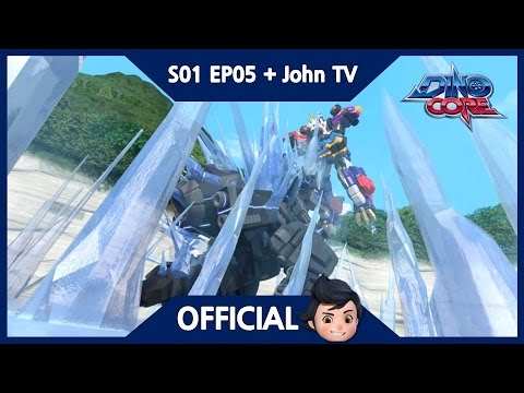 Thumbnail: [Official] DinoCore & John TV | Finally, Core Change! | 3D | Dinosaur Animation | Season 1 Episode 5