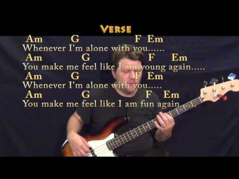 Love Song (The Cure) Bass Guitar Cover Lesson in C with Chords/Lyrics