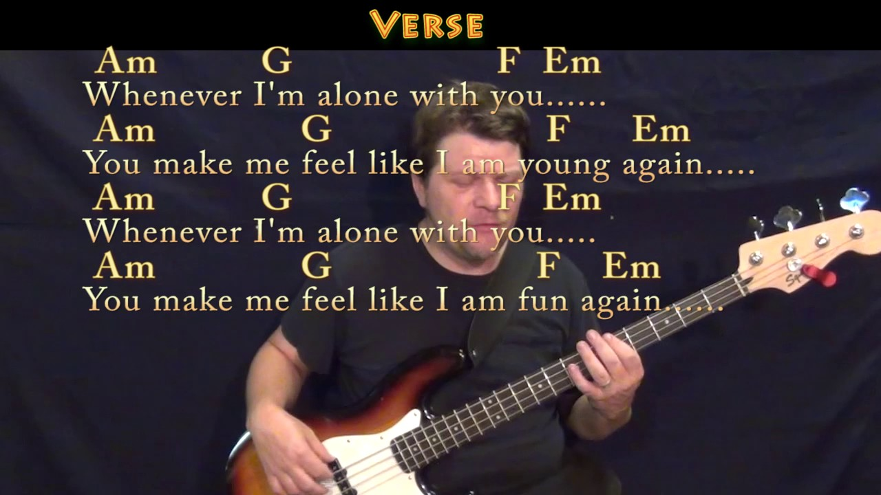 Love Song The Cure Bass Guitar Cover Lesson In C With Chords