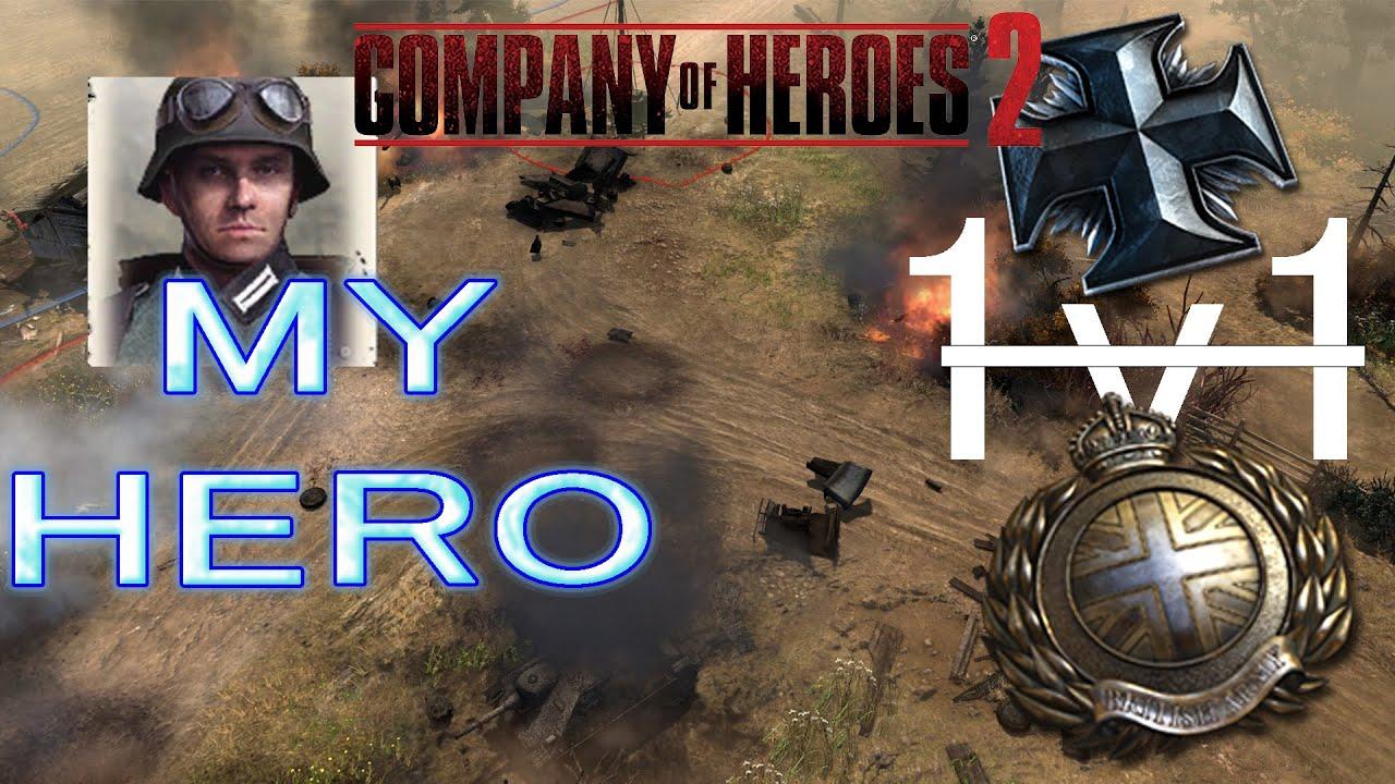 Download 1v1 company of heroes2!با گزارشگری مه مقدس