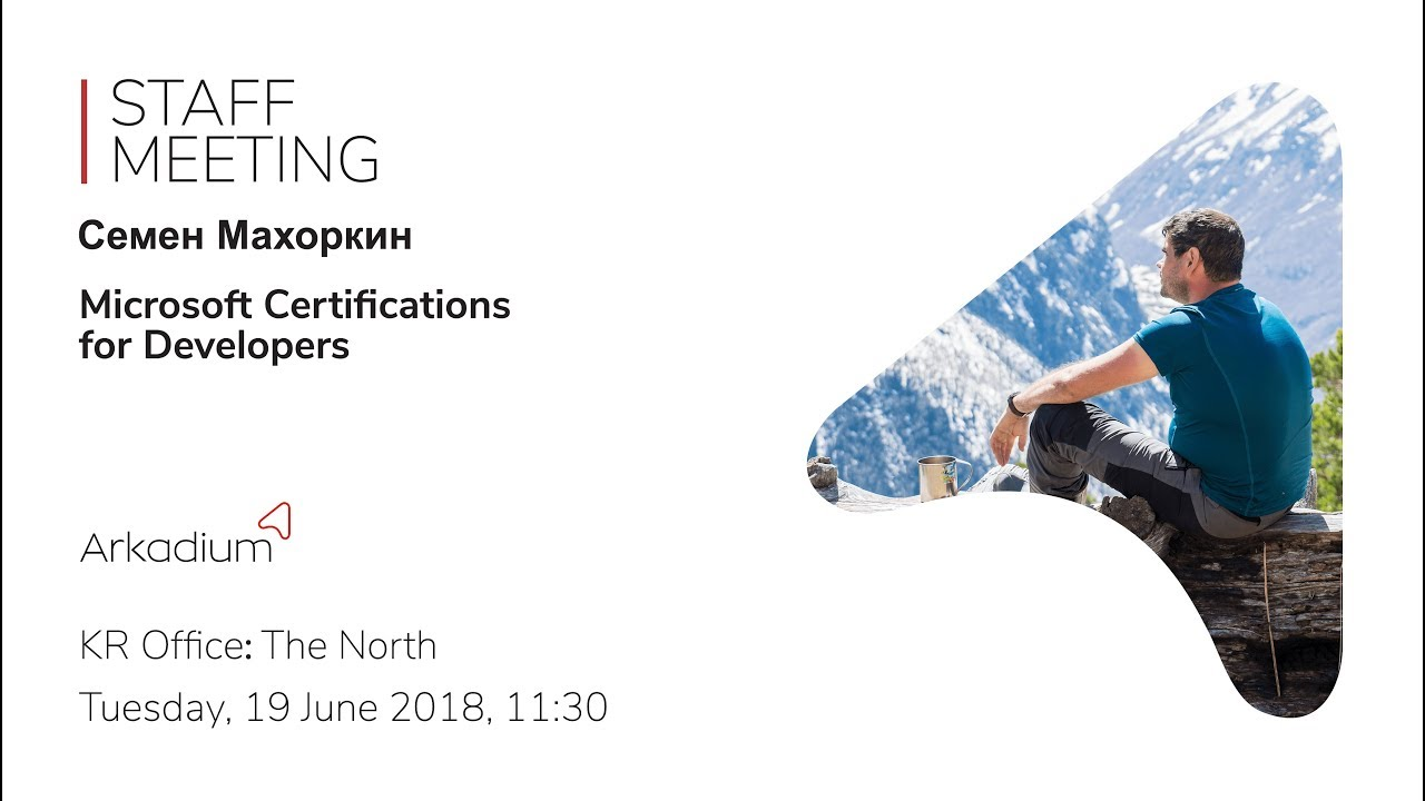 Microsoft Certifications For Developers Youtube