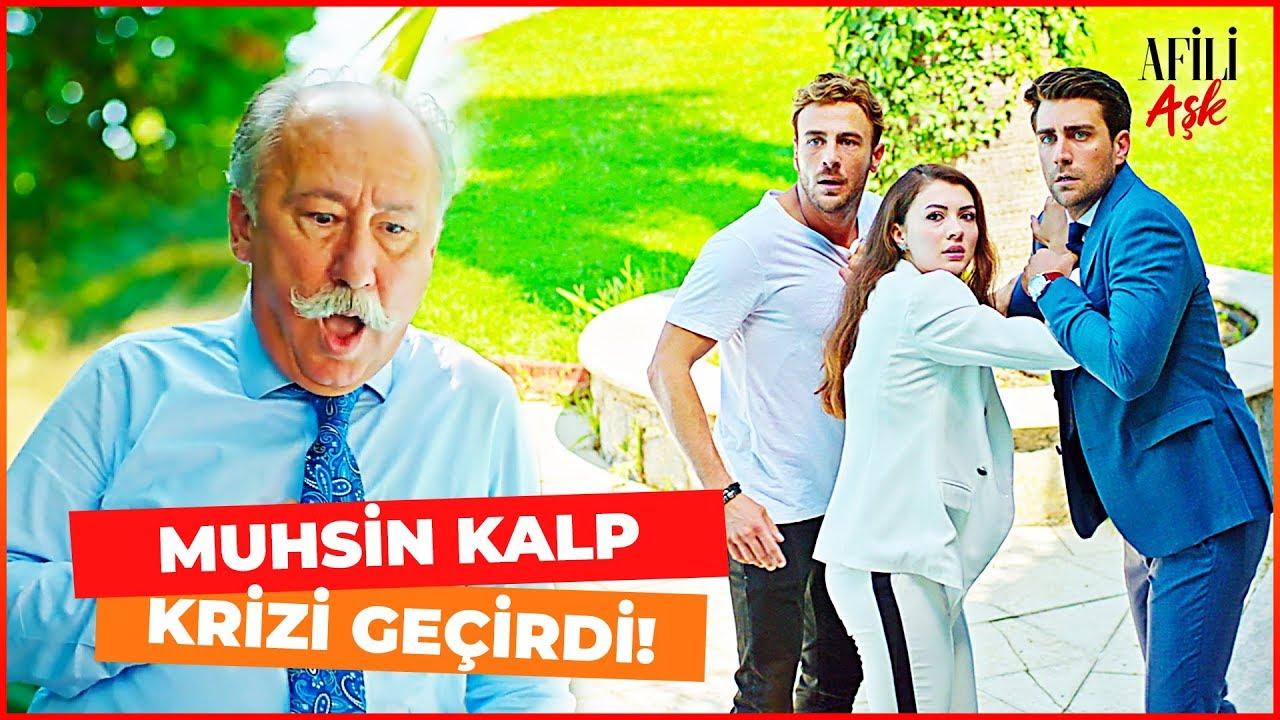 Afili Aşk 13. Bölüm Muammer Yüzünden Muhsin Bey Kalp Krizi Geçirdi  (FİNAL SAHNESİ)