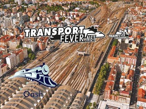 Transport Fever | ITALY MAP - Milano Traffic | Timelapse
