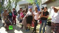 Albergue temporal para migrantes en Tijuana
