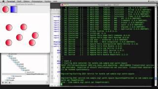 CDI-OSGi sample SWING app