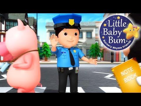Police | Nursery Rhymes | Original Songs By LittleBabyBum!