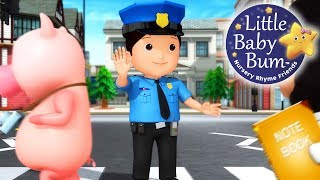 Police Song | Nursery Rhymes for Kids | Songs for Kids | Learn with Little Baby Bum!