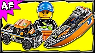 Lego City 4x4 & Powerboat 60085 Stop Motion Build Review