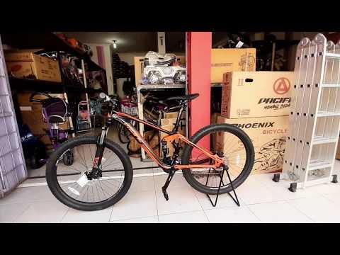 Sepeda MTB / Fullsus Pacific X-Track / Review Spesifikasi